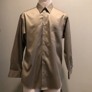 Murano liqiud cotton mens dress shirt